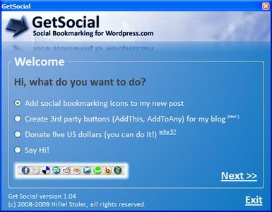 GetSocial Screenshot